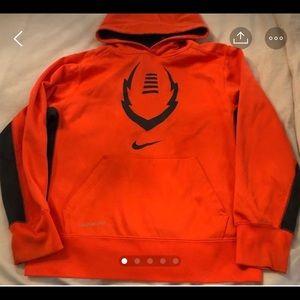 Nike Orange Hoodie